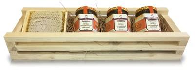 Средний набор с мёдом в подарок - фото 4575