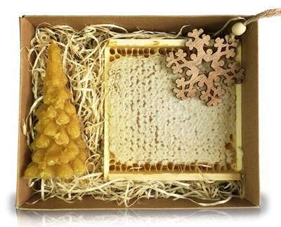 Набор мёда в сотах - фото 4578