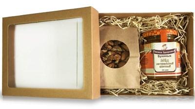 Набор с мёдом и орехами малый - фото 4645