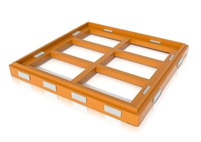 Проставка (легкое дно)  для улья на 12 рамок ППУ Нижегородец. - фото 4856