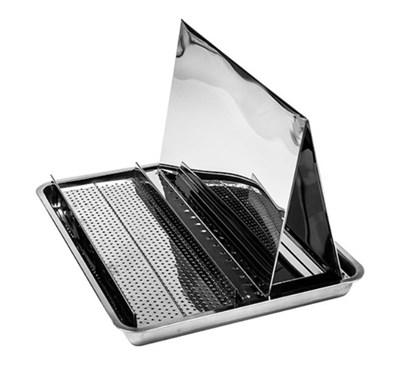Стол для распечатки 1 сотовой рамки из нержавейки - фото 5007