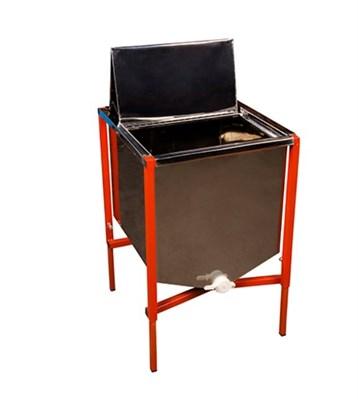 Стол для распечатки 12 сотовых рамок из нержавейки - фото 5008
