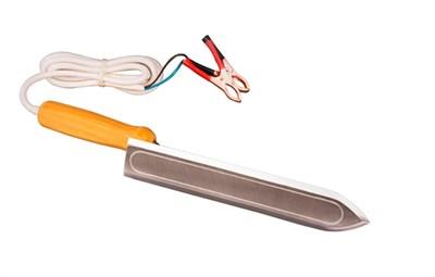 Нож пасечный электрический 12 В 40 Ватт нержавейка 230мм - фото 5015