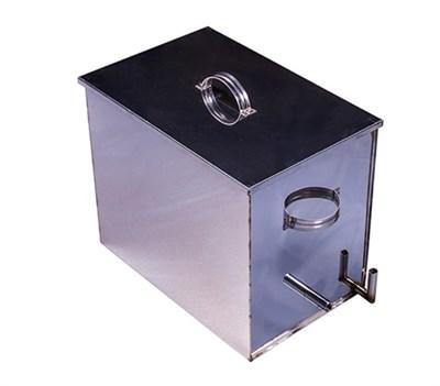 Воскотопка паровая из нержавейки на 30 литров 6-10 рамок - фото 5046