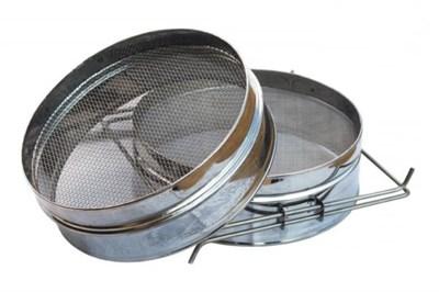 Фильтр для мёда нержавейка 200х105 мм на куботейнер - фото 5081