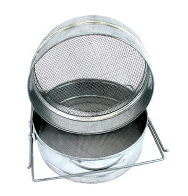 Фильтр для мёда оцинкованный 200х100 мм на куботейнер - фото 5082