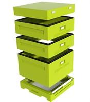 Улей Дадан 1 корпус 12 рамочный + 2 магазина, ППУ нижегородец, комплект