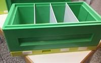 Нуклеус для пчел на 6 рамок Магазин ППУ с перфолистом.