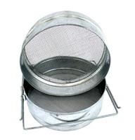 Фильтр для мёда оцинкованный 200х100 мм на куботейнер
